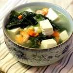 Rong biển nấu đậu hũ